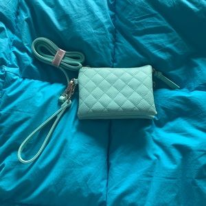 Charming Charlie never used quilted crossbody bag